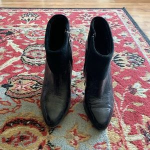 Donald J. Pilner leather bootie